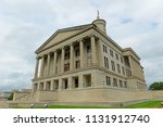 tennessee state capitol ... | Shutterstock . vector #1131912740