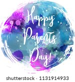 happy parents day  abstract... | Shutterstock .eps vector #1131914933