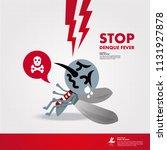 stop denque fever vector   Shutterstock .eps vector #1131927878