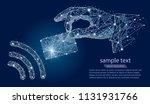 nfc technology. payments... | Shutterstock .eps vector #1131931766