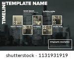 vector infographic timeline...   Shutterstock .eps vector #1131931919