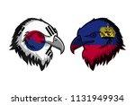 korea south vs liechtenstein | Shutterstock . vector #1131949934