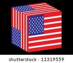 united states flag   vector... | Shutterstock .eps vector #11319559