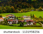 houses and nature of upper... | Shutterstock . vector #1131958256