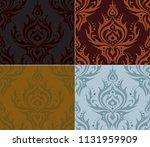 seamless background set 002 | Shutterstock .eps vector #1131959909