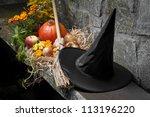 Halloween Still Life With...