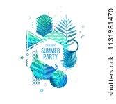 template geometric design for... | Shutterstock .eps vector #1131981470