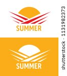 summer icon set | Shutterstock .eps vector #1131982373
