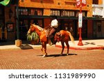 ft worth  tx  usa may 18  2008... | Shutterstock . vector #1131989990