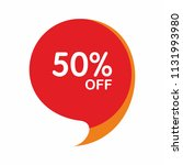 special offer sale red tag.... | Shutterstock .eps vector #1131993980