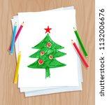 top view vector illustration of ... | Shutterstock .eps vector #1132006676