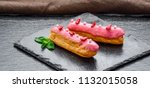 traditional french dessert.... | Shutterstock . vector #1132015058