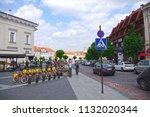 vilnius  lithuania   28 april... | Shutterstock . vector #1132020344