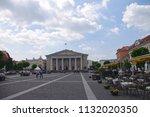 vilnius  lithuania   28 april... | Shutterstock . vector #1132020350