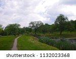 vilnius  lithuania   21 april... | Shutterstock . vector #1132023368