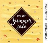 black banner with lettering... | Shutterstock . vector #1132023959