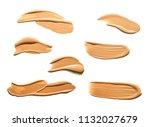 make up bb cc cream or... | Shutterstock . vector #1132027679