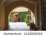 vilnius  lithuania   21 april... | Shutterstock . vector #1132033424