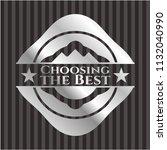 choosing the best silver emblem ...   Shutterstock .eps vector #1132040990