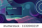 colorful geometric background... | Shutterstock .eps vector #1132043219