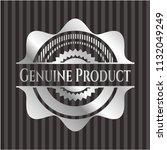 genuine product silver emblem | Shutterstock .eps vector #1132049249