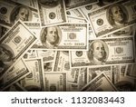 background with money american... | Shutterstock . vector #1132083443