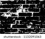 design element. ancient brick... | Shutterstock .eps vector #1132091063
