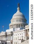 Stock photo dome of the us capitol washington dc 113209120