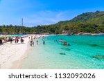 racha  thailand   march 21 ... | Shutterstock . vector #1132092026