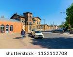 bergen auf ruegen  germany  ... | Shutterstock . vector #1132112708