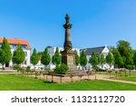 putbus  germany   may 09  2018  ... | Shutterstock . vector #1132112720
