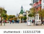 zinnowitz  germany   october 24 ... | Shutterstock . vector #1132112738