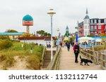 zinnowitz  germany   october 24 ... | Shutterstock . vector #1132112744