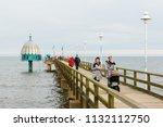 zinnowitz  germany   october 24 ... | Shutterstock . vector #1132112750