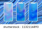 light blue vector material... | Shutterstock .eps vector #1132116893