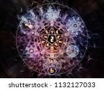numeric connection series....   Shutterstock . vector #1132127033