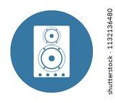 acoustic speakers icon. element ...   Shutterstock .eps vector #1132136480