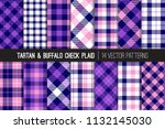 navy blue  pink and violet... | Shutterstock .eps vector #1132145030