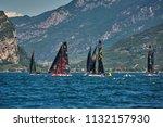 riva del garda lago di garda ...   Shutterstock . vector #1132157930
