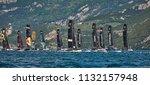 riva del garda lago di garda ...   Shutterstock . vector #1132157948