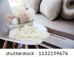 accessories for needlework....   Shutterstock . vector #1132159676
