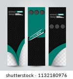banner template. abstract...   Shutterstock .eps vector #1132180976