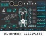 car auto service  modern design ...   Shutterstock .eps vector #1132191656