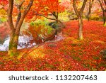 sakyoku ku  kyoto city in late... | Shutterstock . vector #1132207463