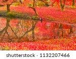 sakyoku ku  kyoto city in late... | Shutterstock . vector #1132207466