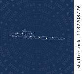 hvar network  constellation... | Shutterstock .eps vector #1132208729