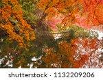 sakyo ku  kyoto shi late autumn ... | Shutterstock . vector #1132209206