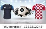 football cup 2018 world... | Shutterstock .eps vector #1132212248