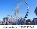 liverpool  uk   16 march  view... | Shutterstock . vector #1132217768