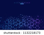 modern futuristic background of ... | Shutterstock .eps vector #1132218173